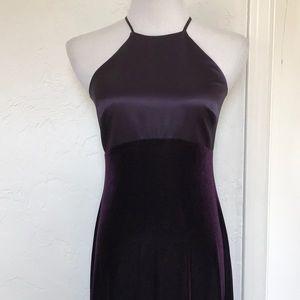 Laundry silk and velvet gown